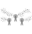internet signals communication technology vector image