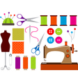 Sewing Set vector image