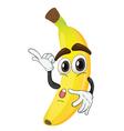a banana vector image vector image