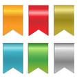 Ribbon Markers vector image vector image