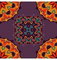 Bright color mandala ornament seamless background vector image