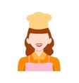 Chef Female vector image