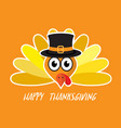 abstract turkey for thanks giving background vector image