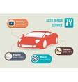 car information vector image