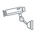 surveillance camera symbol vector image