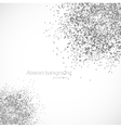 Dots background vector image vector image