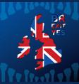 brexit design concept vector image