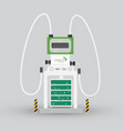 car electric charging station vector image