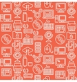 Computer Technology Seamless Pattern vector image