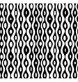 seamless abstract monochrome pattern vector image