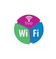 logo network vector image