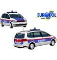 austria police car vector image