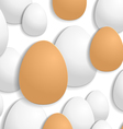 egg background vector image vector image