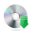 cd icon vector image