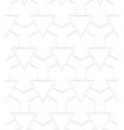 White art deco pattern vector image