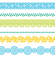 lace 1 vector image vector image