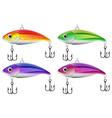 Lure fishing vector image