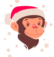 Monkey new year vector
