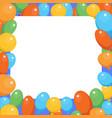 a birthday celebrant postcard vector image