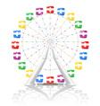 ferris wheel 02 vector image