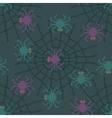 Pixel Spider Pattern vector image