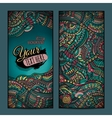 Abstract decorative ethnic ornamental backgrounds vector image