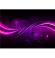 purple abstract background with wave vector image