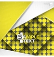 Abstract Background With White Paper Layers vector image