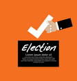 Vote For Election Concept EPS1 vector image