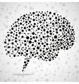 Abstract brain human vector image
