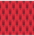 Cinema Seats Seamless Pattern Endless Texture vector image