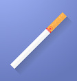 Icon of cigarette Smoking symbol vector image
