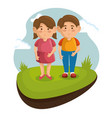 small kids icon vector image