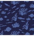 Underwater pattern vector image vector image