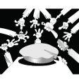 piece of pie vector image