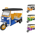 TukTuk Car vector image