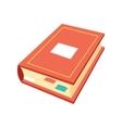 Isometric book icon education symbols logo vector image