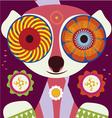 lemur in love vector image