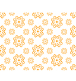 seamless wallpaper with floral pattern vector image vector image