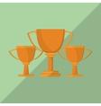 winner icon design vector image