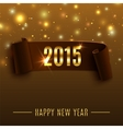Happy New Year 2015 celebration background with vector image