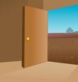 room interior vector image vector image