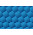 abstract blue pattern hexagon background vector image
