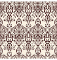 seamless vintage retro pattern vector image vector image
