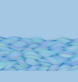 background with wave pattern blue texture vector image