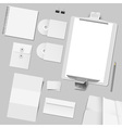Corporate template design vector image