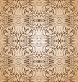 Abstract pattern in brown and beige vector image vector image