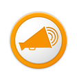 Megaphone Icon vector image vector image