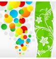 spring balls vector image vector image