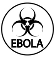 Ebola virus icon vector image
